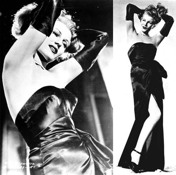 Rita hayworth chante « put the blame on mame » 28 avril